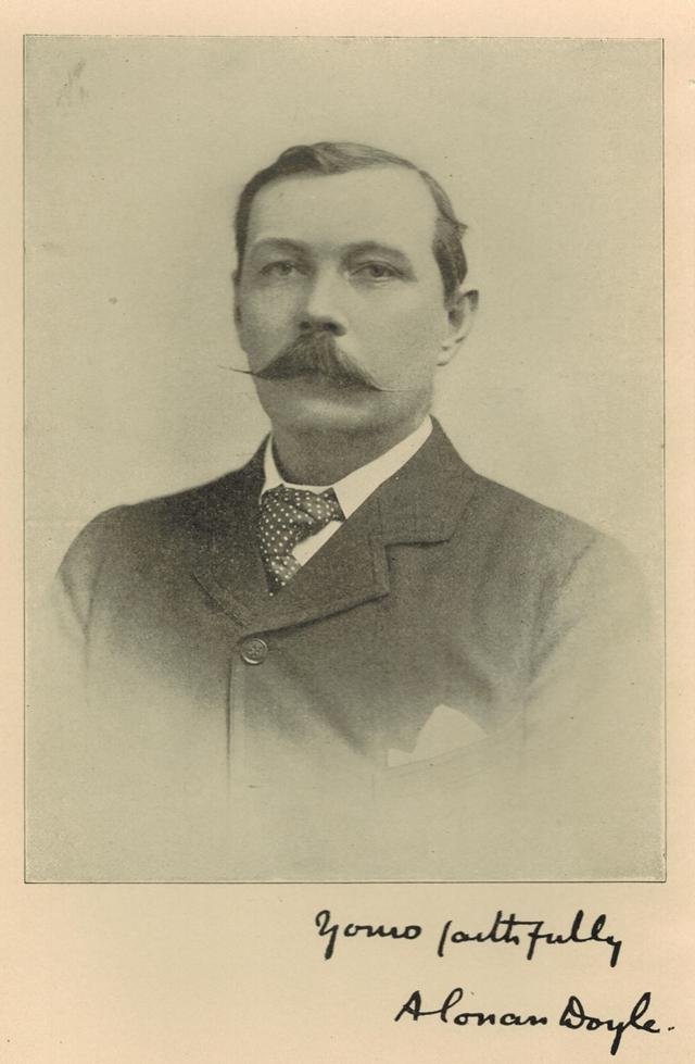 Arthur Conan Doyle Photograph 640