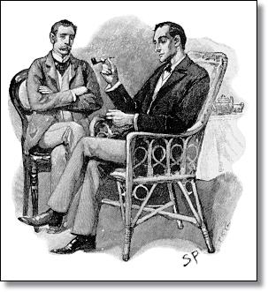Dr. Watson and Sherlock Holmes